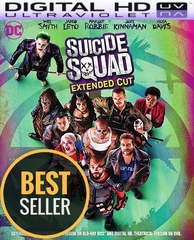 Suicide Squad Extended Edition HD Digital Ultraviolet UV Code