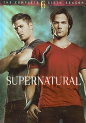 Supernatural The Complete Sixth Season DVD