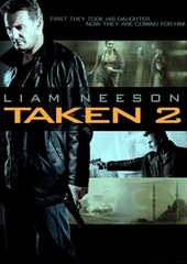 Taken 2 DVD Movie