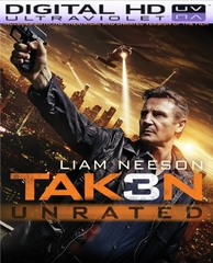 Taken 3 HD Digital Copy Code Vudu / iTunes / Google Play / Flixster