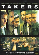 Takers DVD Movie (USED)