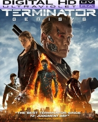 Terminator Genisys HD Digital Ultraviolet UV Code