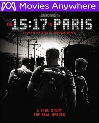 The 15:17 To Paris HD UV or iTunes Code