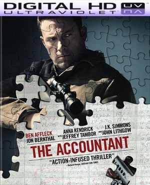 The Accountant Hd Digital Ultraviolet UV Code
