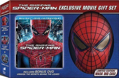 The Amazing Spider-Man LIMITED EDITION Blu-ray + DVD + UltraViolet  Limited Edition Mask