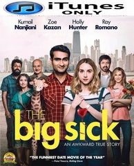 The Big Sick HD iTunes Code    (PRE-ORDER WILL EMAIL ON OR BEFORE 9-19-17 AT NIGHT)