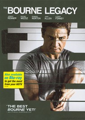 The Bourne Legacy DVD Movie