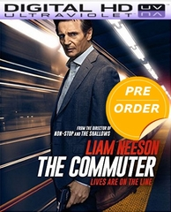 The Commuter HD UV Code     (PRE-ORDER WILL EMAIL ON OR BEFORE 4-17-18 AT NIGHT)