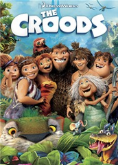 The Croods DVD Movie