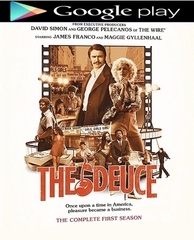The Deuce: The Complete First Season HD Google Play Code