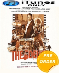 The Deuce: The Complete First Season HD iTunes Code     (PRE-ORDER WILL EMAIL ON OR BEFORE 2-13-18 AT NIGHT)