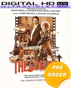 The Deuce: The Complete First Season HD UV Code (PRE-ORDER WILL EMAIL ON OR BEFORE 2-13-18 AT NIGHT)