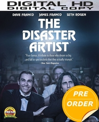The Disaster Artist  HD UV or iTunes Code       (PRE-ORDER WILL EMAIL ON OR BEFORE 3-13-18 AT NIGHT)
