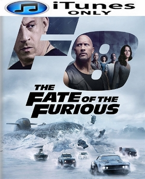 The Fate of the Furious HD iTunes Code (PRE-ORDER WILL EMAIL ON OR BEFORE 7-11-17 AT NIGHT)