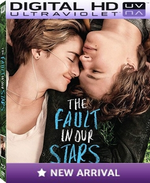 The Fault In Our Stars Digital HD Ultraviolet UV Code
