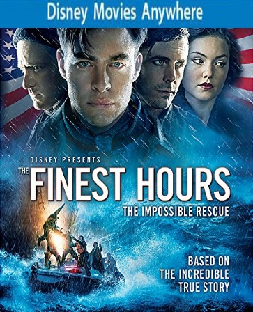 The Finest Hours UV Code, Buy The Finest Hours Ultraviolet