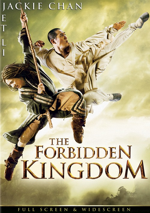 The Forbidden Kingdom DVD | Jet Li | Jackie Chan | The ...