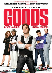 The Goods Live Hard Sell Hard DVD Movie (USED)