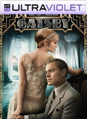 The Great Gatsby SD Digital UltraViolet UV Code