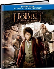 The Hobbit: An Unexpected Journey (Blu-ray + DVD + DigiBook + UltraViolet)