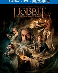 The Hobbit  The Desolation Of Smaug (Blu-ray + DVD + UltraViolet)