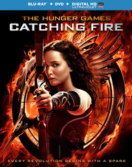 The Hunger Games Catching Fire (Blu-ray + DVD + UltraViolet)