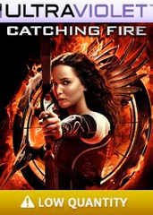 The Hunger Games Catching Fire SD Digital Ultraviolet UV Code