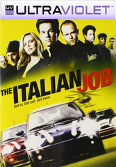 The Italian Job SD Ultraviolet UV Code