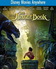 The Jungle Book (2016) DMA Code, Vudu or iTunes