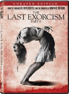 The Last Exorcism Part II Unrated DVD + Ultraviolet + Digital Copy