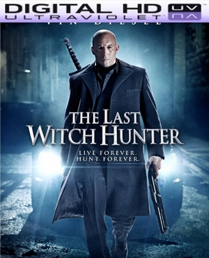 The Last Witch Hunter HD Digital Ultraviolet UV Code