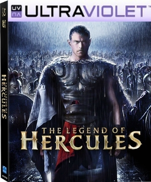 The Legend of Hercules SD Digital UltraViolet UV Code