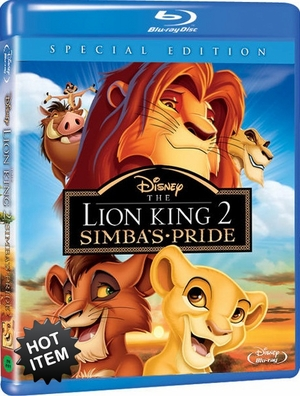 The Lion King 2 Simba's Pride Special Edition Blu-ray (USED)