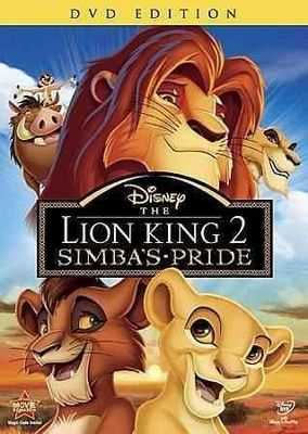 The Lion King 2 Simba's Pride DVD (USED)