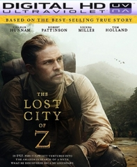 The Lost City of Z HD Ultraviolet UV Code (PRE-ORDER WILL EMAIL ON OR BEFORE 7-11-17 AT NIGHT)