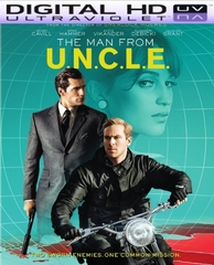 THE MAN FROM U.N.C.L.E HD Digital Ultraviolet UV Code (Flixster Only)