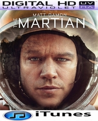 The Martian HD Digital Ultraviolet UV Code or iTunes