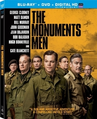 The Monuments Men (Blu-ray + DVD + UltraViolet)