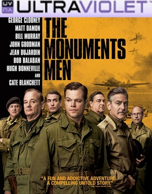 The Monuments Men  SD Digital UltraViolet UV Code