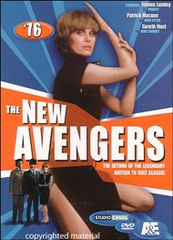 The New Avengers Season One DVD (1976)
