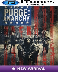 The Purge Anarchy iTunes ONLY HD Digital Code