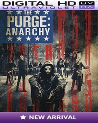 The Purge Anarchy HD Digital Ultraviolet UV Code