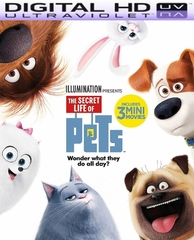 The Secret Life of Pets HD Digital Ultraviolet UV Code
