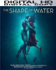 The Shape Of Water HD UV or iTunes Code