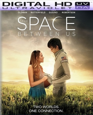 The Space Between Us HD Digital Ultraviolet UV Code