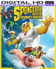 The Spongebob Movie  Sponge Out of Water HD Digital Ultraviolet UV Code