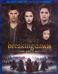 The Twilight Saga Breaking Dawn Part 2 (Blu-ray ONLY USED)
