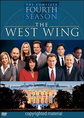 The West Wing Season 4 DVD