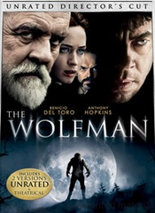 The Wolfman Unrated Directors Cut DVD Movie (USED)