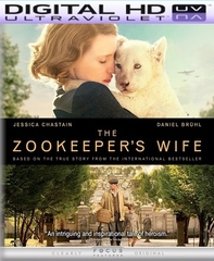 The Zookeeper's Wife HD Ultraviolet UV Code